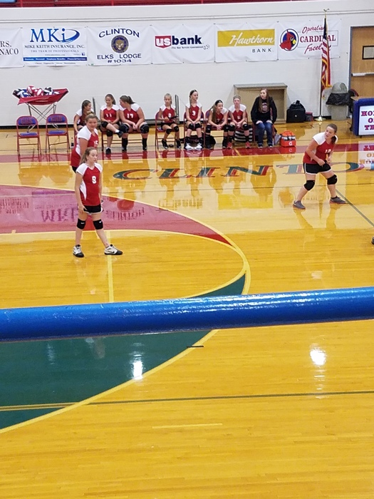 Jr. High Volleyball at Clinton