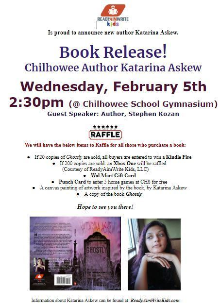 Book Release at CHS